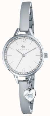 Radley amor carril ry4267 plata del brazalete de la mujer RY4267