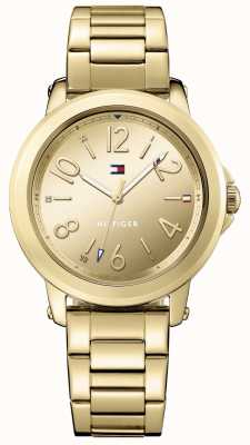 Tommy Hilfiger Pulsera de oro de acero inoxidable Womans 1781751