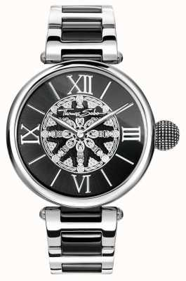 Thomas Sabo enlaces IP de acero inoxidable Womans karma WA0298-290-203-38