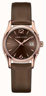 Hamilton Mujer jazzmaster 34mm marrón H32341975