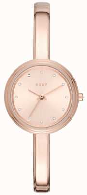 DKNY Womans murray rosa toned reloj brazalete NY2600