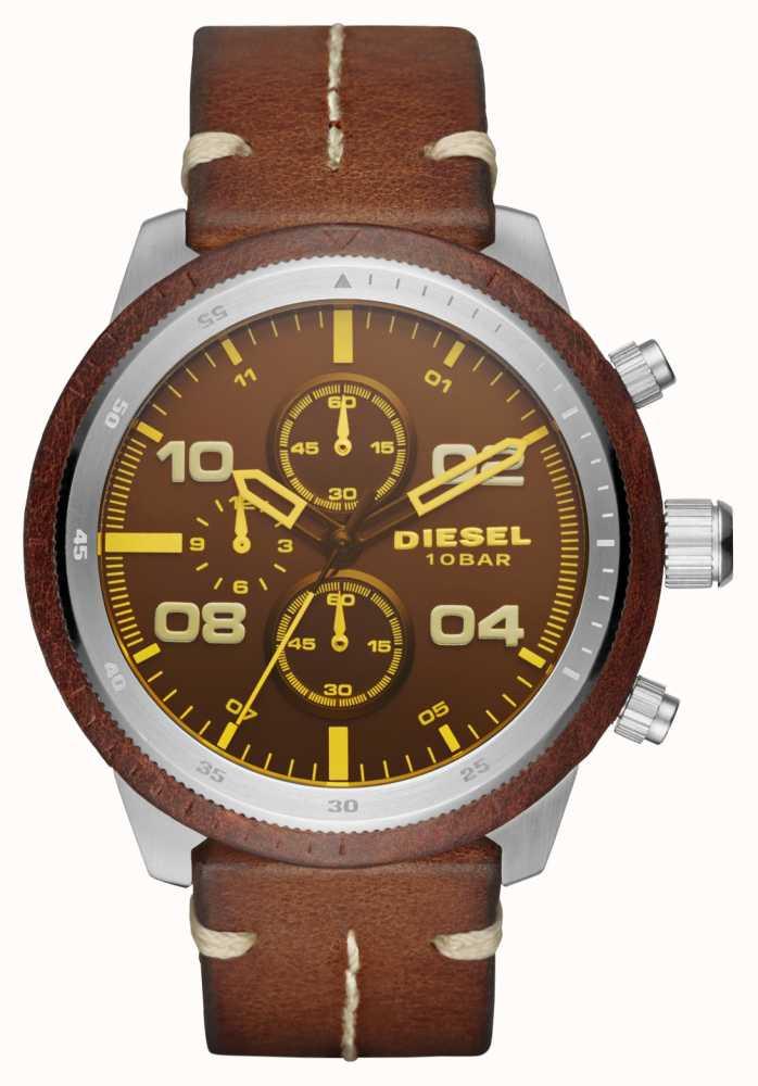 5efe7fc45aee Diesel Relojes De Candado Marrón DZ4440 - First Class Watches™ ESP