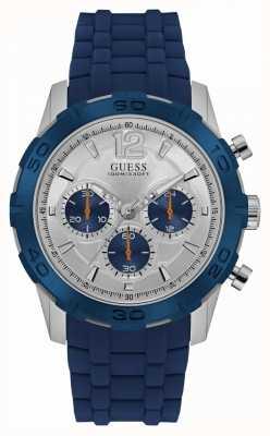 Guess Mens calibre deporte chrono azul W0864G6