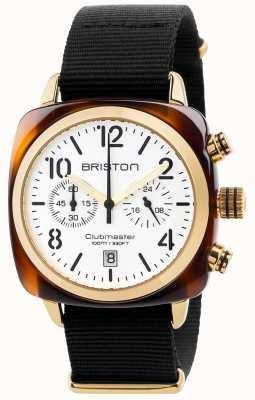 Briston Mens clubmaster cronógrafo clásico 17140.PYA.T.2.NB