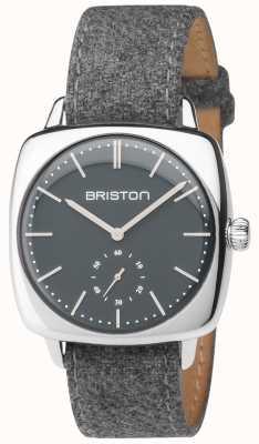 Briston Correa de tela gris vintage para hombre clubmaster vintage gris 17440.PS.V.17.LFG