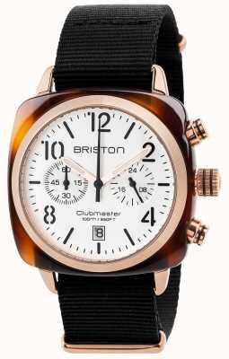 Briston Mens clásico clubmaster 17140.PRA.T.2.NB
