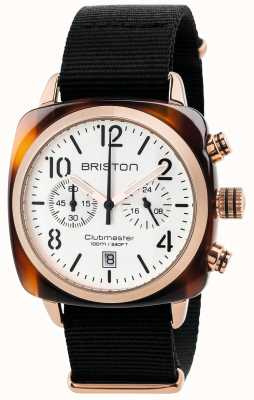 Briston Cronógrafo clásico clubmaster para hombre 17140.PRA.T.2.NB