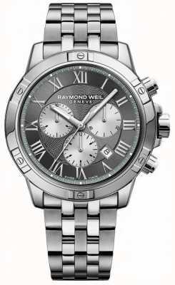 Raymond Weil Cronógrafo hombre tango gris 8560-ST-00606