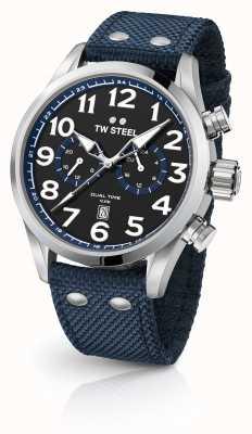 TW Steel Relojes de tela azul VS37