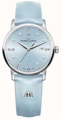Maurice Lacroix Womans eliros ocho diamantes azul EL1094-SS001-550-1