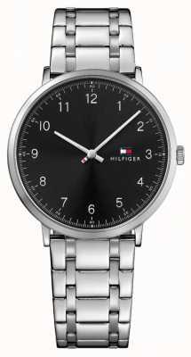 Tommy Hilfiger Reloj de acero inoxidable para hombre james 1791336