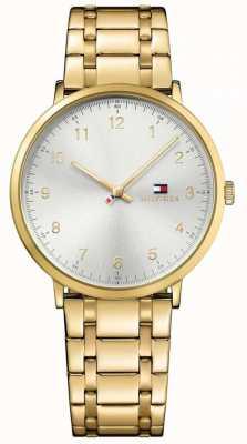 Tommy Hilfiger Reloj chapado en oro para hombre james pvd 1791337