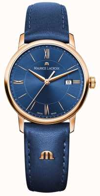 Maurice Lacroix cuero azul Womans Eliros EL1094-PVP01-411-1