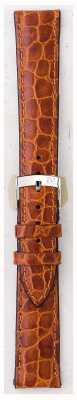 Morellato Correa sólo - cuero croc de liverpool marrón claro 20mm A01U0751376037CR20