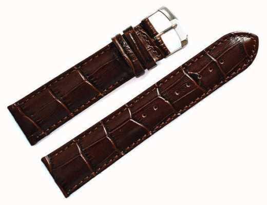 Morellato Correa sólo - samba cocodrilo marrón 20mm A01X2704656032CR20