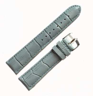 Morellato Correa solamente - aligátor de samba azul claro 20mm A01X2704656068CR20