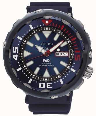 Seiko buzos para hombre Prospex PADI esfera azul automática edición especial SRPA83K1