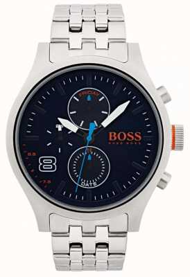 Hugo Boss Orange Hombres amsterdam negro acero inoxidable 1550023