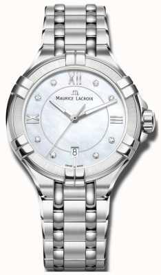 Maurice Lacroix Womans Aikon de cuarzo AI1004-SS002-170-1