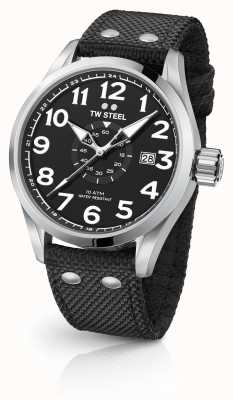 TW Steel Mens volante negro 48mm VS2
