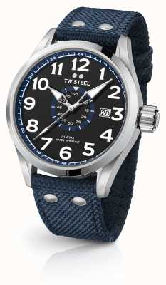 TW Steel Mens azul volante 48mm VS32