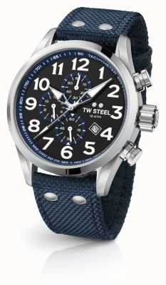 TW Steel Mens volante azul 45mm cronógrafo VS33