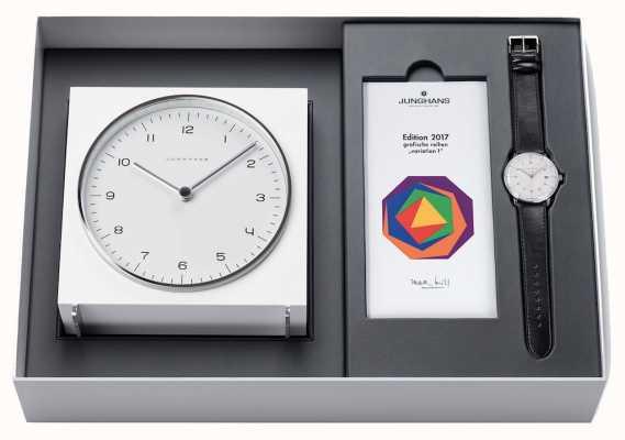 Junghans Edición limitada de Max Bill 2017 - reloj y conjunto de relojes 363/2715.00