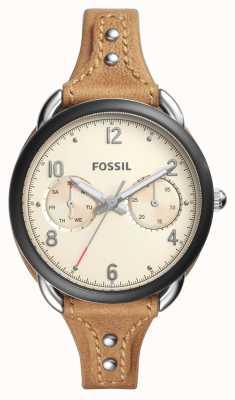 Fossil Sastre de mujer beige ES4175
