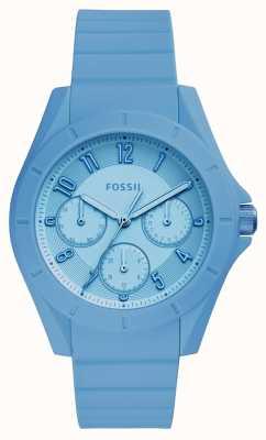 Fossil Womans poptastic cronógrafo azul ES4189