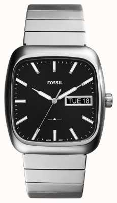 Fossil Hombres de plata metal rutherford FS5331