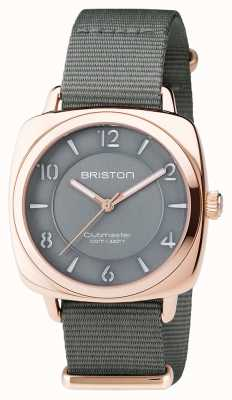 Briston Clubmaster unisex chic gris pvd oro rosa 17536.SPRG.L.17.NG