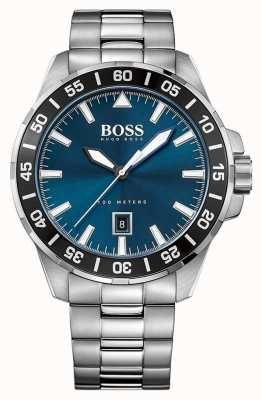 Hugo Boss Dial azul de acero inoxidable para hombre 1513230