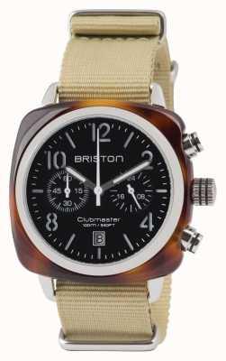 Briston Clubmaster classic acetate - cronógrafo concha de carey blac 13140.SA.T.1.NK