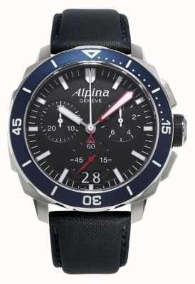 Alpina Hombres marino 300 gran fecha AL-372LBN4V6