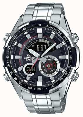 Casio Edifice reloj con cronógrafo taquímetro ERA-600D-1AVUEF