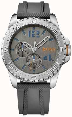 Hugo Boss Orange Mens reykjavik correa de caucho gris 1513412
