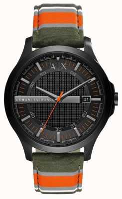 Armani Exchange Reloj de cuero para hombre AX2198