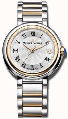 Maurice Lacroix Fiaba 36mm dos tono de acero inoxidable señoras FA1007-PVP13-110-1
