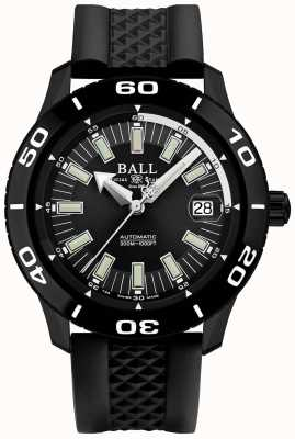 Ball Watch Company Bomberos necc pvd caja correa de caucho negro DM3090A-P4J-BK