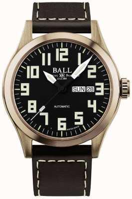 Ball Watch Company Caso de bronce para hombre ingeniero III NM2186C-L3J-BK