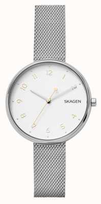 Skagen Brazalete de acero de acero inoxidable de la firma de Womans SKW2623