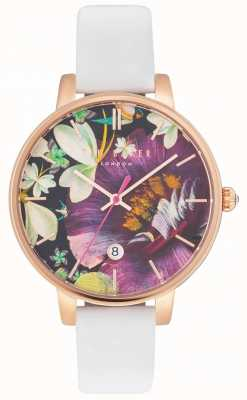 Ted Baker Womans kate enchantment floral dial blanco TE10031547