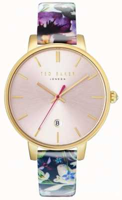 Ted Baker Womans kate correa floral rosa dial TE10031542