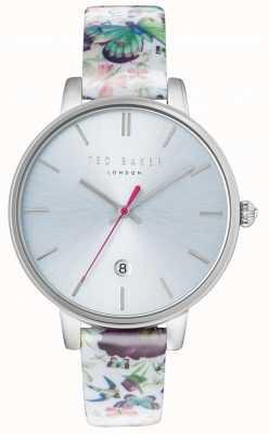 Ted Baker Womans kate correa de plata reloj de plata TE10031540