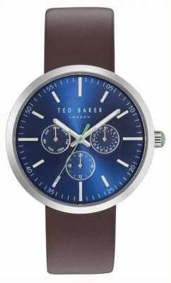 Ted Baker Reloj con correa de Brown TE10031500