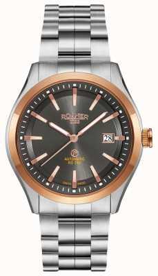 Roamer Rd100 automático | pulsera de acero inoxidable | esfera negra 951660-49-05-90
