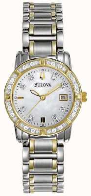 Bulova Pulsera de acero inoxidable 98W107