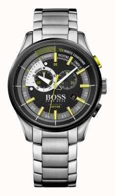 Hugo Boss Mens yachting cronómetro de acero inoxidable cronómetro ii 1513336