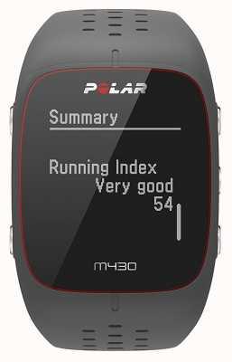 Polar Reloj deportivo de caucho gris M430 90064404