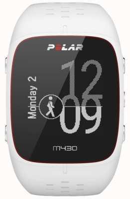 Polar Reloj deportivo de goma blanca M430 90064407